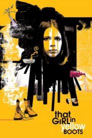 Dziewczyna w żółtych butach
